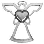 Salisbury Pewter Archangel Chamuel Ornament - Angel of Unconditional Love