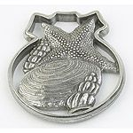 Salisbury Pewter Seashells Christmas Ornament