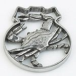 Salisbury Pewter Traditional Crab Christmas Ornament