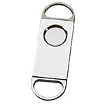 Nickle-plated Cigar Cutter by Sheridan