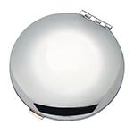 Elegance Silver Round Compact Purse Mirror