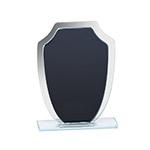Sheridan Black and Mirror Shield Trophy