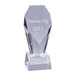 Crystal Trophy by Sheridan