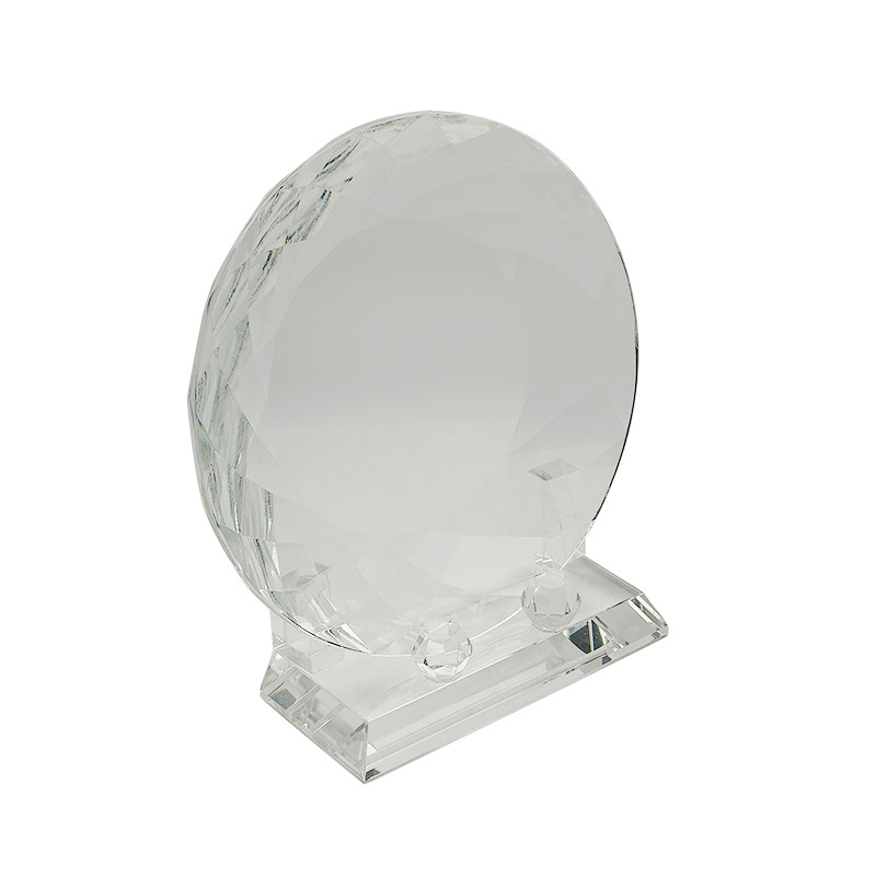 Optic Crystal Plate with Stand