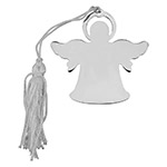 Sheridan Angel Ornament w/White Tassel