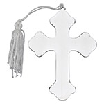 Sheridan Cross Ornament w/White Tassel