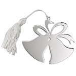 Sheridan Double Bell Shaped Ornament w/White Tassel