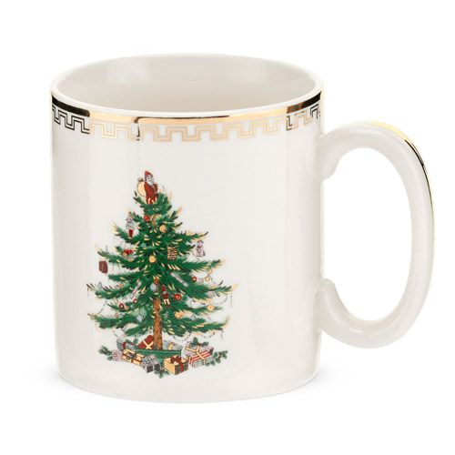 Spode christmas tree large mug holder