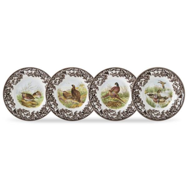 Spode Woodland Canap Plates Set of 4 Birds  sc 1 st  Silver Superstore & Spode Woodland Canape Plates Dinnerware