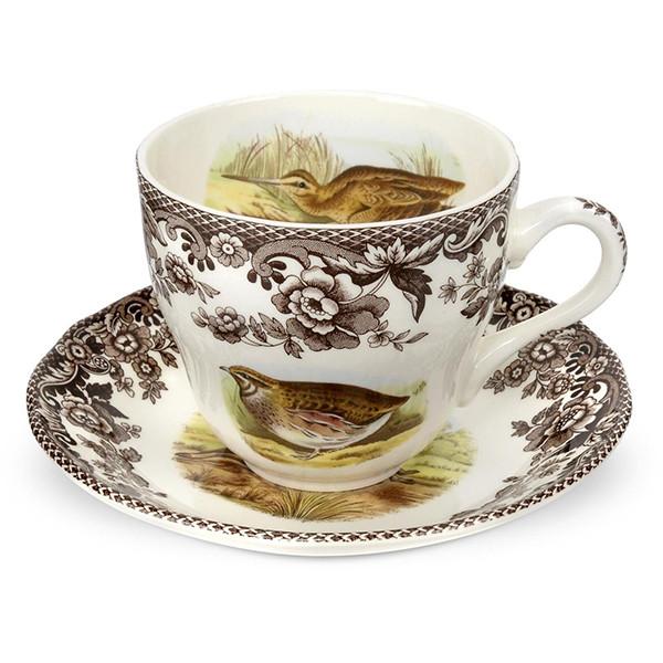 Spode Woodland Teacup u0026 Saucer  sc 1 st  Silver Superstore & Spode Woodland Dinnerware | Silver Superstore