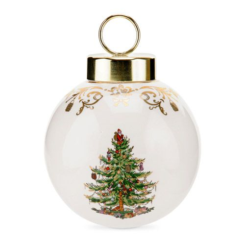 Spode christmas tree th anniversary bauble ornament