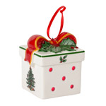 Spode Christmas Tree LED Gift Box Ornament