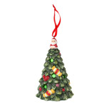 Spode Christmas Tree Multicolor LED Tree Ornament