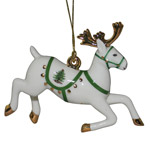 Spode Christmas Tree Reindeer Ornament