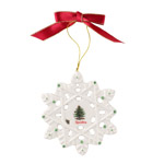 Spode Christmas Snowflake Ornament