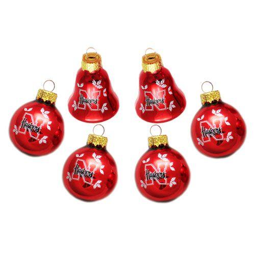 University of Nebraska Christmas Ornaments
