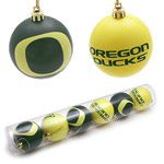 University of Oregon Christmas Ornaments