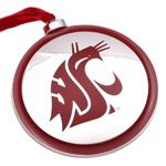 Washington State University Christmas Ornament