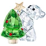 Swarovski Kris Bear Christmas Figurine