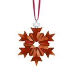 Swarovski Annual Red Christmas Ornamnet