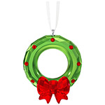 Swarovski Wreath Christmas Ornament