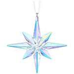 Swarovski Star Ornament, Crstal Aurora Borealis