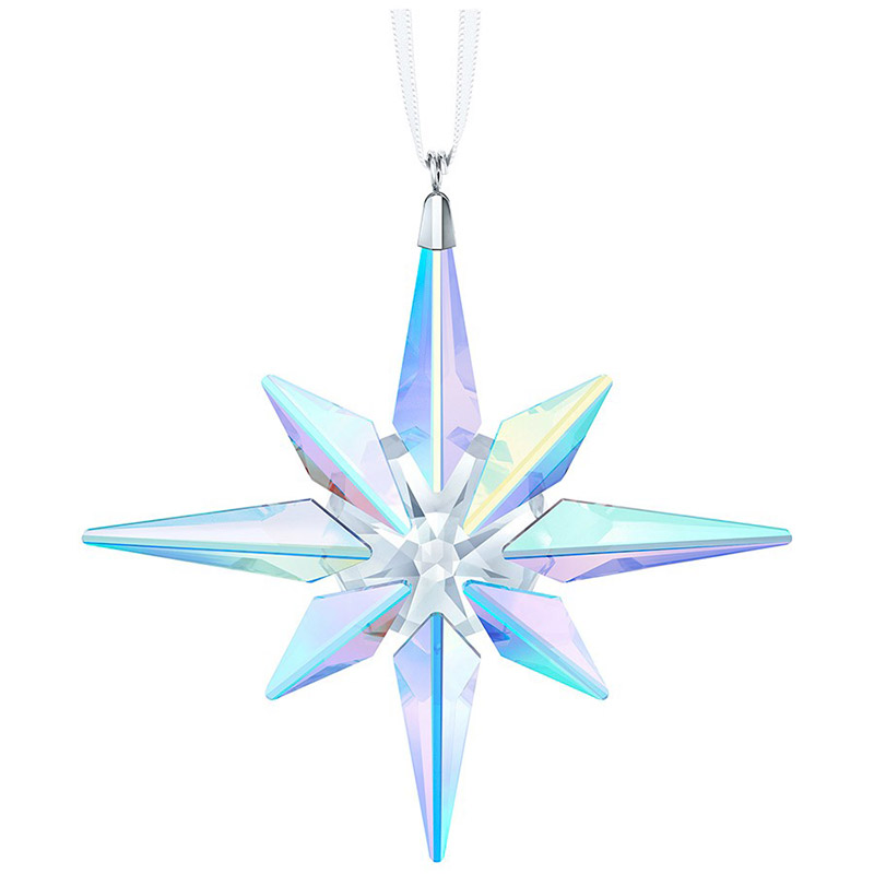d0ad5d7cd Crystal Star Ornament, AB, Large | Swarovski Christmas Tree Decoration |  Christmas Little Star