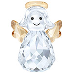 Swarovski Rocking Angel Christmas Ornament