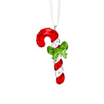 Swarovski Candy Cane Christmas Ornament