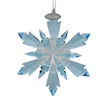 Swarovski Frozen Snowflake Christmas Ornament