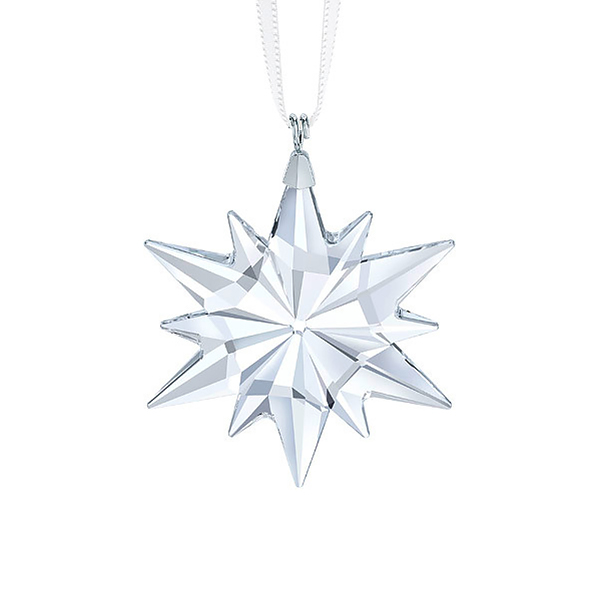 Little Star Ornament | Swarovski Christmas Tree Decoration | Christmas Little Star Ornament