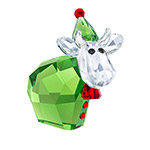 Santa's Helper Christmas Ornament by Swarovski