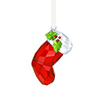 Swarovski Santa Stocking Christmas Ornament 2017