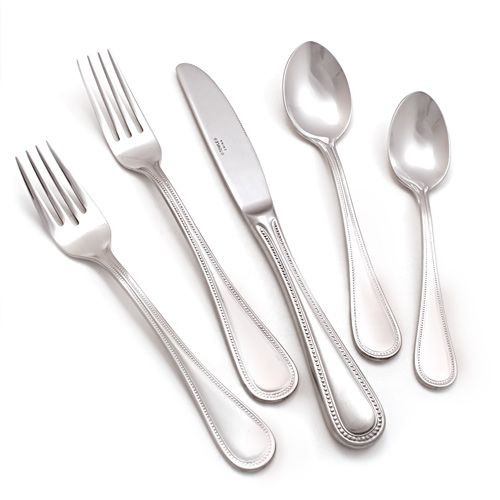 Beaded Antique By Towle Silversmiths Flatware For Less Custom Stainless Flatware Patterns