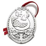 2014 Towle Twelve Days of Christmas Silver Ornament