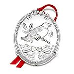 Towle Twelve Days of Christmas, Four Calling Birds Christmas Sterling Silver Ornament