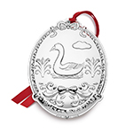 2017 Towle Twelve Days of Christmas Silver Ornament