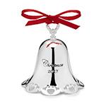 Towle Silver Christmas Bell, Christmas 2017, Christmas Ornament
