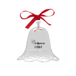 2018 Towle Annual Musical Bell Silver Christmas Ornament