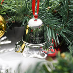 Towle Musical Bell 2018 Ornament | Towle Christmas Decoration | Silver Bell Ornament