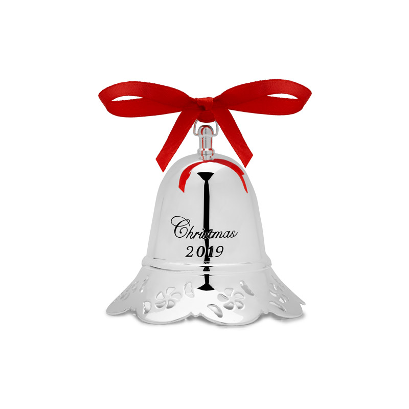 Christmas Musicals 2019 Towle Musical Bell 2019 | Towle Christmas Ornament | Silver Bell