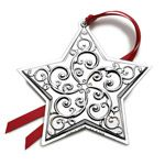 2014 Towle Annual Star Sterling Silver Christmas Ornament