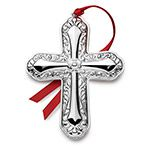 2014 Towle Annual Cross Sterling Silver Christmas Decoration