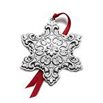 2015 Towle Old Master Snowflake Sterling Silver Christmas Ornament