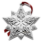 Towle Ornament 2016 Annual Star Sterling Silver Christmas Decoration