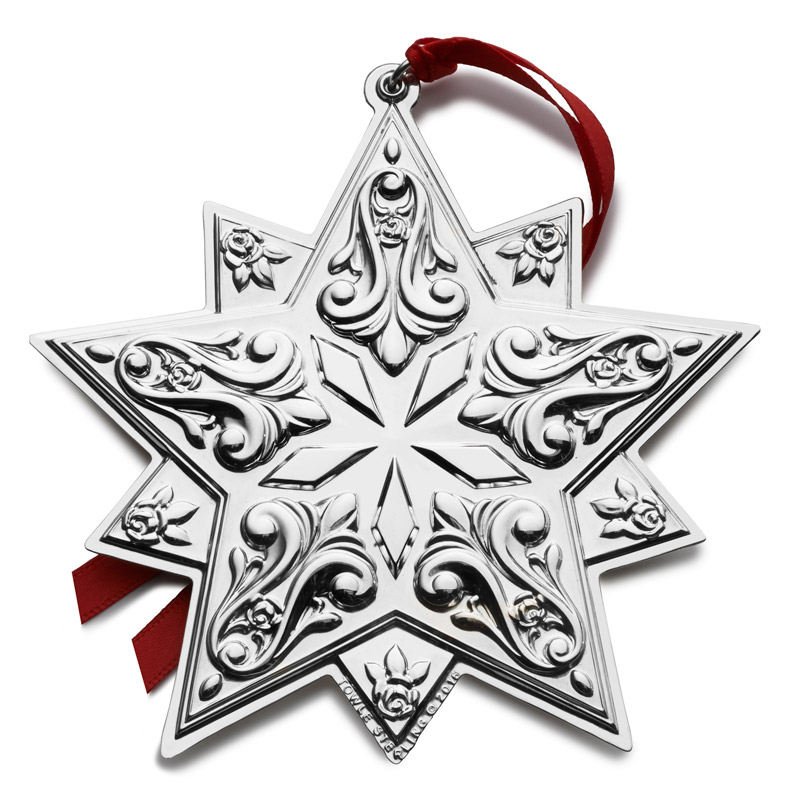 Silver Star Ornament 2016 | Towle Silver Christmas ...
