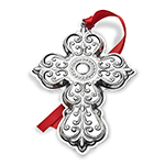 Towle Christmas Ornament 2017 Annual Cross Sterling Silver Decoration