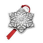 2017 Towle Old Master Snowflake Sterling Silver Christmas Ornament