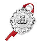 2018 Baby's First Christmas Sterling Silver Christmas Ornament