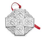Towle Christmas Ornament 2018 Celtic Sterling Silver